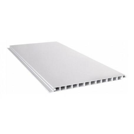 Placa Blanca Cielorraso Pvc 4.5 Metros X 200mm X 10mm