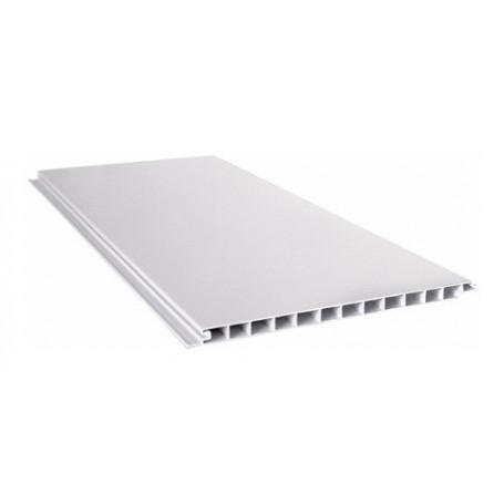 Placa Blanca Cielorraso Pvc 5 Metros X 200mm X 10mm