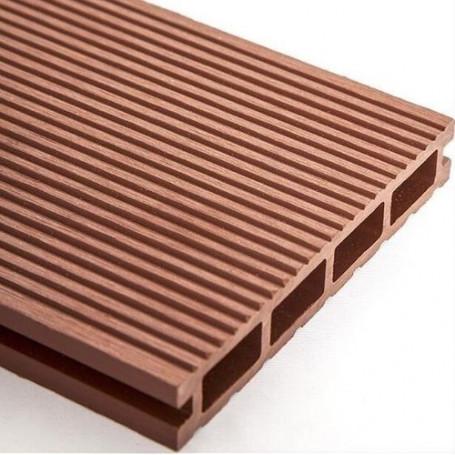 Deck Wpc Composite Bamboo Ranurado 25mm