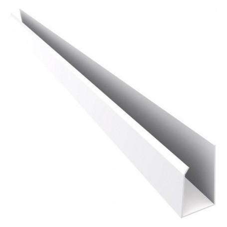 Perfil J De Pvc Blanco 3,00m