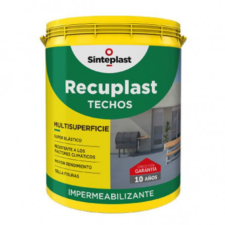 Recuplast Techos 4 Litros Impermeabilizante
