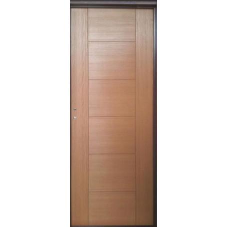 Puerta Placa Caia Premium Cedro T10 A80 Chapa 22