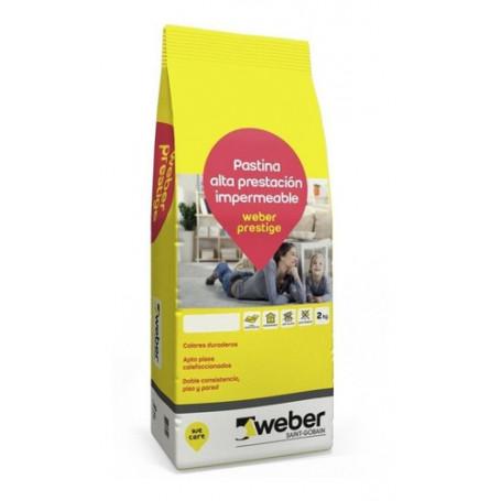 Weber Pastina Prestige 2kgs Porcelanatto Varios Colores