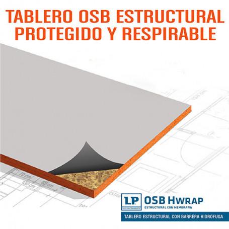 Osb LP Hwrap 11,1 Mm (1,22 M X 2,44 M)